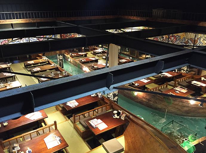 名古屋市の飲食店様 店内風景