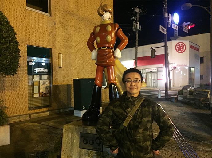 女川町での水槽設備工事 DAIGOさん登場
